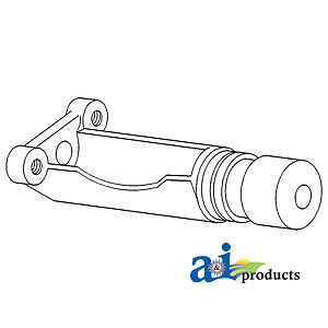 A-1870240M1 Massey Ferguson Parts SUPPORT HYD DRAFT 20