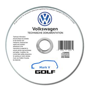 Volkswagen Golf V (2004-2008) manuale officina riparazione