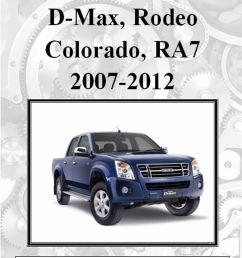 isuzu d max rodeo holden colorado ra7 2007 2012 workshop manual digital download ebay [ 1156 x 1600 Pixel ]