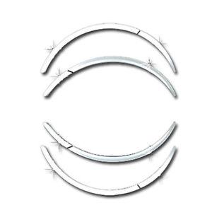 Chrome Fender Guard Trim Wheel Molding 8P 1Set For 11 12