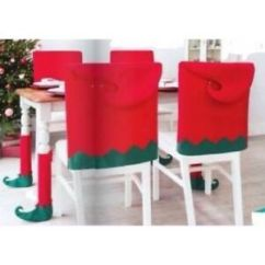 Christmas Elf Chair Covers Herman Miller Avon 4 Each Of Table Legs Image Is Loading