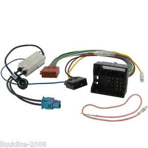 peugeot 407 wiring diagram jaguar x type can bus loom worksheet and ct20pe06 2004 onwards quadlock fakra iso harness adapter rh ebay co uk bsi