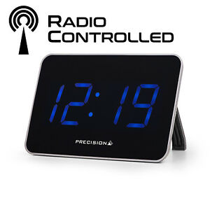 PRECISION RADIO CONTROLLED USB DUAL DIGITAL TRAVEL ALARM CLOCK AP055