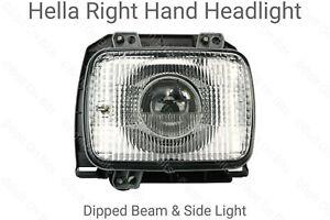 HELLA DE Right Hand Projector Square Golf Mk2 Headlight