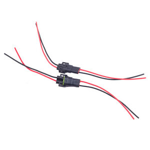 H8 H11 Wiring Harness Socket Female+Male Adapter Connector