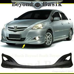 bodykit all new yaris trd kijang innova bekas 2007 2012 toyota front bumper lip factory style body kit image is loading