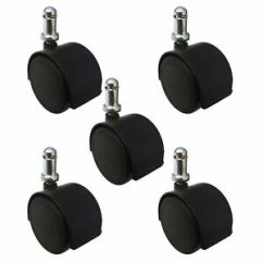 Office Chair Casters Cover Rental Charlotte Nc 5 2 3 8 Heavy Duty Hardwood Safe Urethane Image Is Loading 034