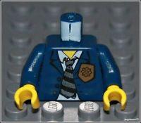Lego City x1 Dark Blue Shirt Badge Torso Suit Tie Police ...