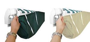details sur sac protection store banne tissu impermeable imputrescible durable contre pluie