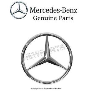 For Mercedes R129 SL320 SL600 Grille Center Star Emblem