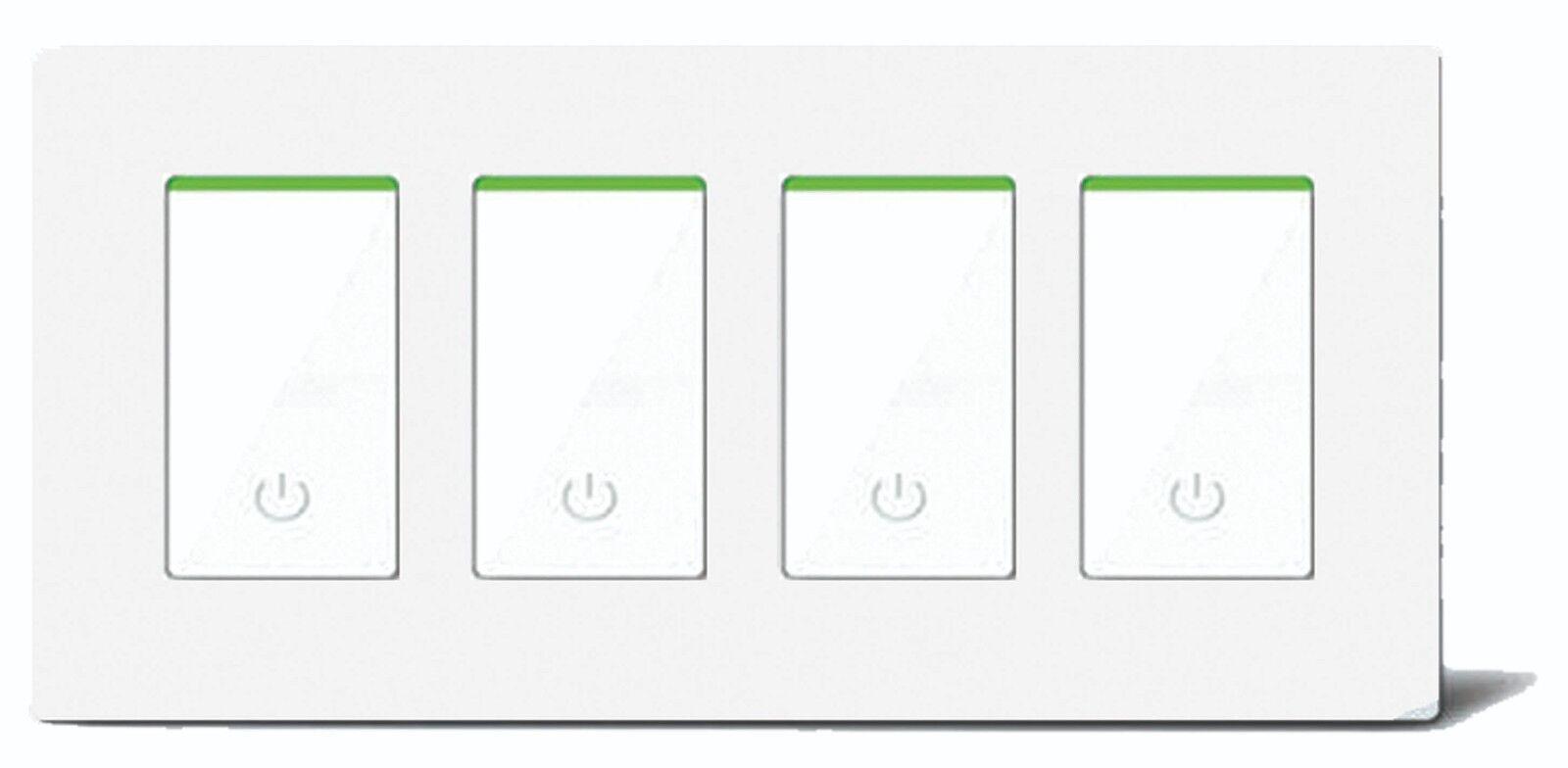 Nyc 4 Gang Smart Wifi Light Switch In Wall