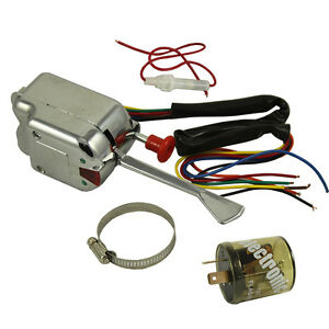 hot rod turn signal wiring diagram dometic fridge 12v universal street chrome switch for gm ford image is loading