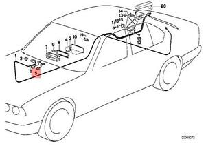 Genuine BMW E12 E21 E23 E24 E28 E30 E32 Radio Adapter lead