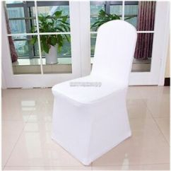 White Folding Chair Covers How To Refinish Wood Chairs Buy Spandex 100pcs Wedding Party Banquet Event Seat Cover