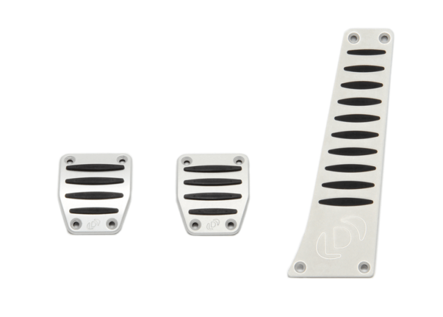 Dinan Aluminum Pedal Cover Set for BMW with Manual