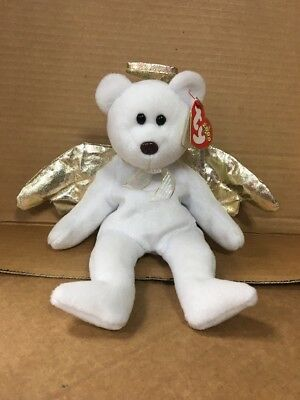 Halo Beanie Bear Value : beanie, value, Beanie, Babies, Angel, Error, Brown