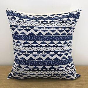 details about 18 45x45cm mexican blue white fabric cushion pillow cover handmade australia