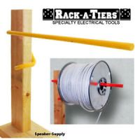 Rack-A-Tiers Electricians Wall Stud Cable Caddy Wire Spool ...