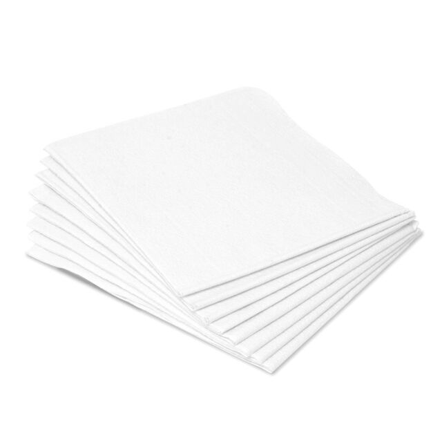 CASE OF 100! LARGE Patient Exam Drape Sheets 40x60 White