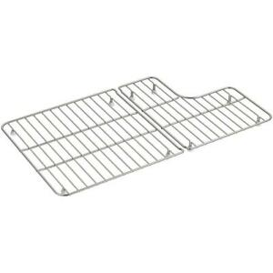 details about kohler sink bowl rack bottom grid dishwasher safe stainless steel rubber feet