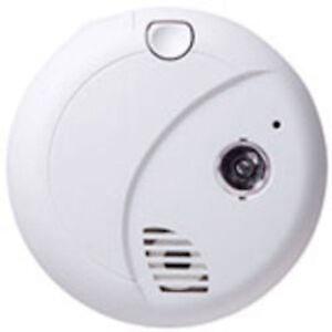AES 720P HD Wireless WiFi Smoke Detector Hidden Nanny Spy