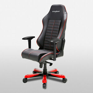 ergonomic office chair ebay used eames dxracer oh is188 nr gaming desk image is loading