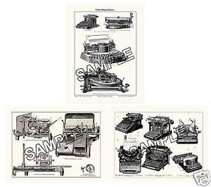 Hammond Remington Mignon Oliver Empire Typewriter etc 3