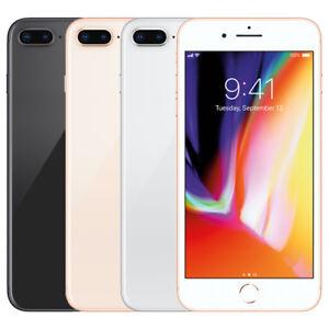 "Apple iPhone 8 Plus 64GB ""Factory Unlocked"" 4G LTE iOS 12MP Camera Smartphone"