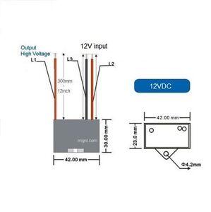 12 VDC Negative ion Generator Module ionizer 12V indoor