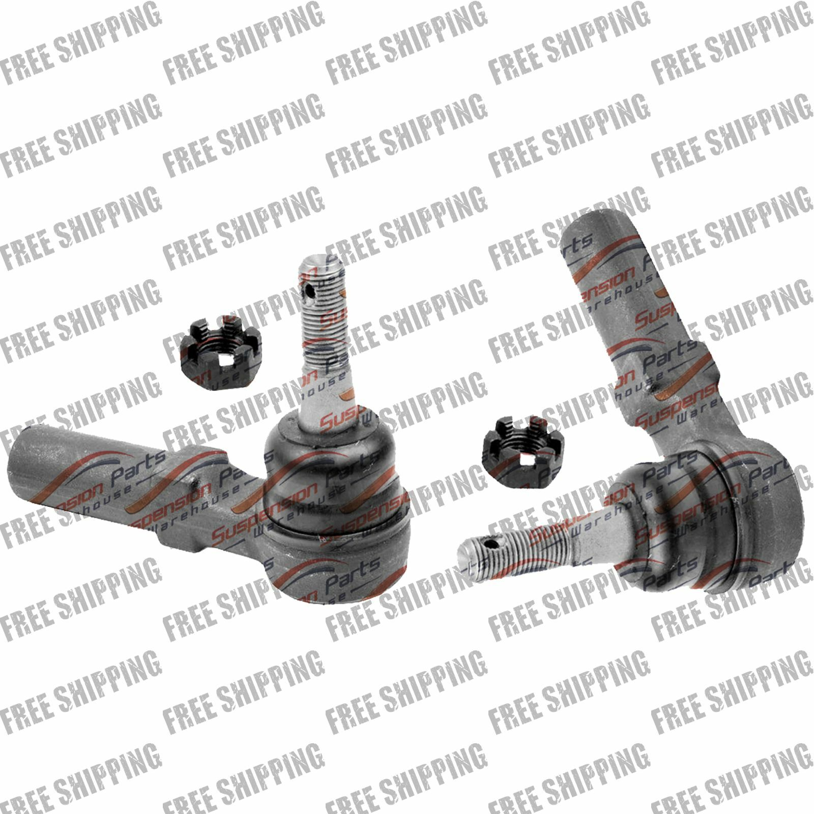 2 Outer Tie Rods Steering Chassis Part Kit For Buick