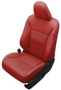Honda Accord Red Seats : honda, accord, seats, Honda, Accord, Sport, CUSTOM, LEATHER, REPLACEMENT, COVERS
