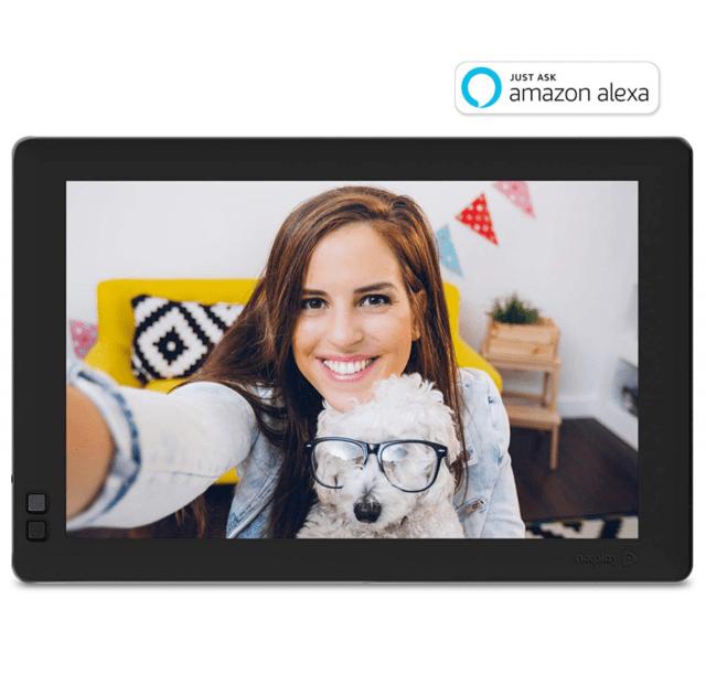 Nixplay Seed 10 Zoll Widescreen Bilderrahmen Mit Wlan Fotos Einfach über App