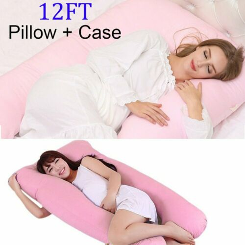 maternity health giant 12ft u shaped pillow extra filled pregnancy maternity body back th casacarpedm