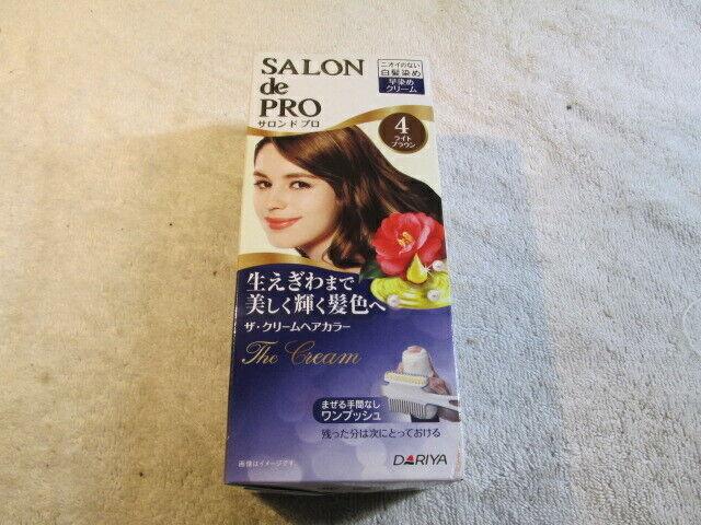 US SHIP Dariya Salon de Pro One Push The Cream Hair Color # 4   eBay