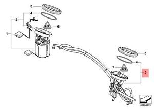 Genuine BMW E81 E82 Fuel Filter + Pressure Regulator