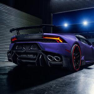 Vorsteiner Aero Wing Aluminum Carbon Fiber Lamborghini Huracan