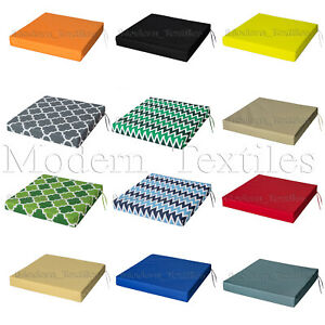 details about waterproof chair cushion seat pads outdoor tie on garden patio removable cover