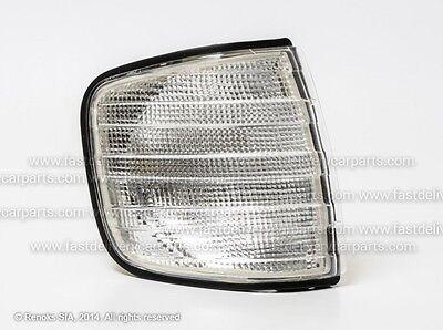 Front Indicator Light Lamp white Mercedes S klass W126