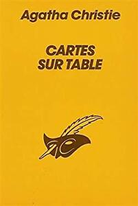 Cartes Sur Table Agatha Christie : cartes, table, agatha, christie, Cartes, Table, Agatha, Christie