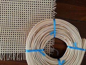 repair rattan chair seat red outdoor pillows wicker cane webbing replacement kit image is loading
