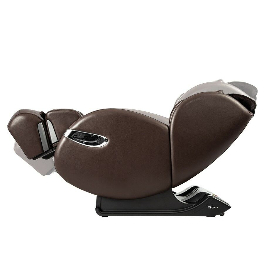 Osaki Massage Chairs Osaki Titan Lucas Massage Chair Zero Gravity Recliner With Foot Rollers Brown