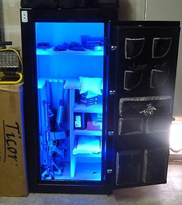 universal gun safe led light kit complete kit blue red white green pink 685349894765 ebay