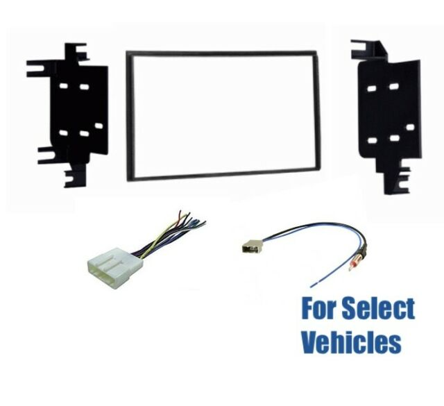 Double Din Car Stereo Radio Dash Wire Kit Combo for some