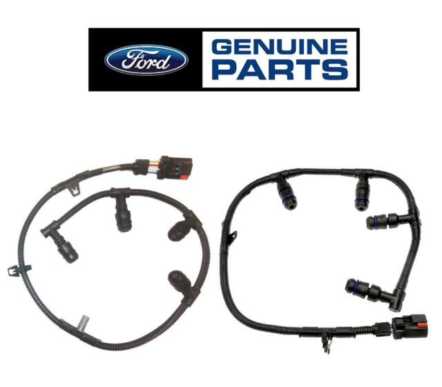 NEW For Ford E-350 E-450 F-250 Set of Two Diesel Glow Plug
