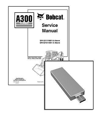 Bobcat A300 Turbo All-Wheel Steer Repair Service Manual