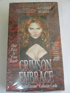 Crimson Embrace Comic Images Box of Cards