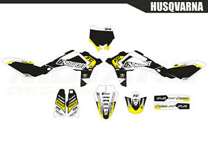 Motard graphics kit for Husqvarna TC 450 510 2008 2009
