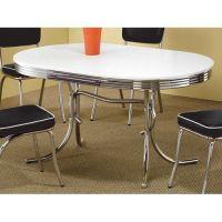 Retro Dining Table Vintage 50's Mid Century Modern Style ...