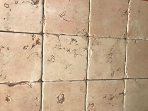 Piastrelle  Mosaico 10x10 in pietra marmo Rosa Asiago per rivestimenti  eBay