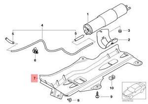 Genuine BMW 3 Series E46 Sedan Wagon Fuel Filter Cover OEM